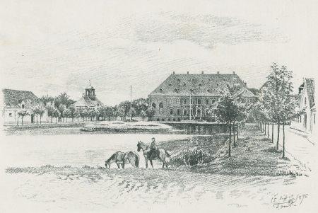 Valdemars Slot ved slutningen af 1800-tallet