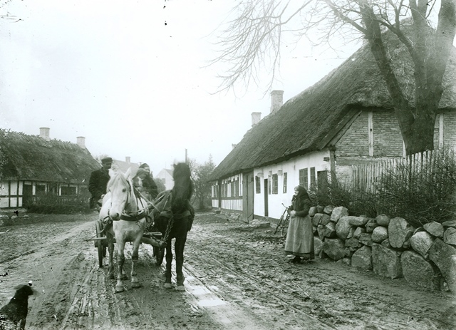 Carlas hus omkring 1900