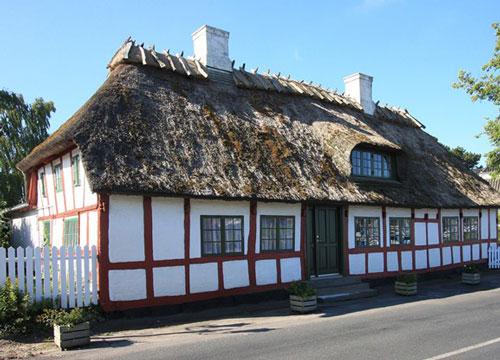Kirstine Andersdatter og Rasmus Frantzens hjem i Vindeby