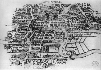 Köningsberg er i dag den russiske enklave Kaliningrad ved Østersøen.