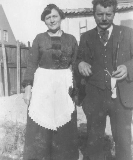 Rasmus Rasmussen - kaldet Mose og Kromann og Marie Kirstine Madsen