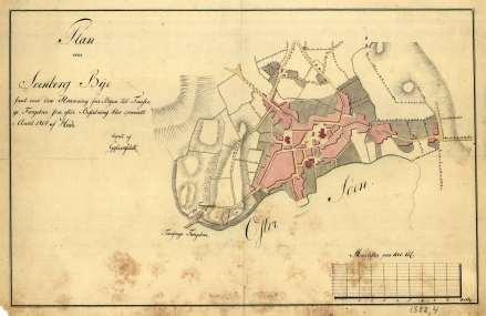 Svendborg i 1804