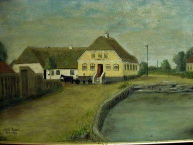 Vindeby Kro sidst i 1800-tallet