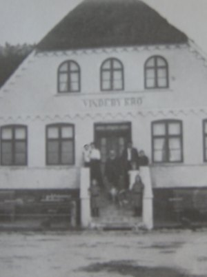 Vindeby Kro med familinen Rasmussen