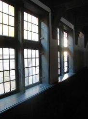 Meget gamle vinduer