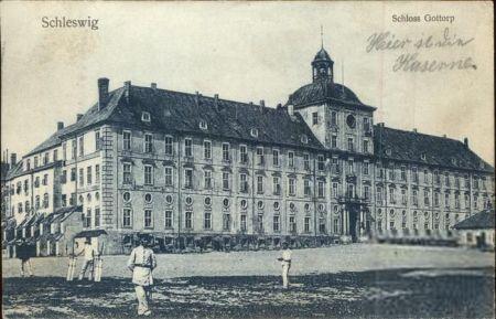 Gottorp Slot i Schleswig som kasserne