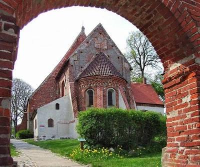 Kirken i Altenkirchen på Rügen