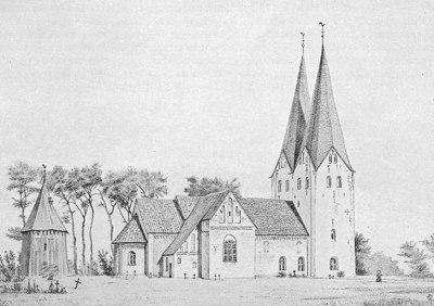 Broager Kirke i 1862