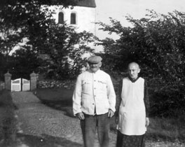 Dorothea Marie og Hans Christian i Lem i Himmerland