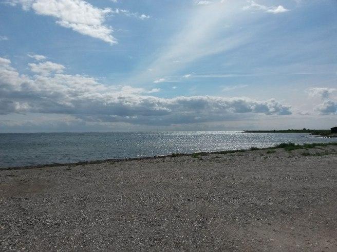 Kysten ved Reersø