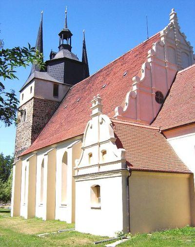 Kirken i Loburg i Sachsen