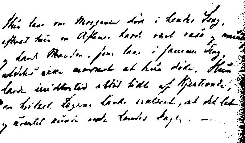 Indføjelsen i kirkebogen ved Dorothea Marie Christensen Møllers begravelse