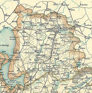 Sogne og byer i Rinds Herred