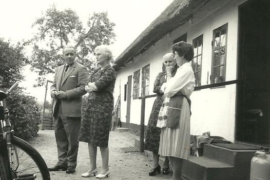 Niels Kristian og Cilia besøger Inger på Tåsinge.