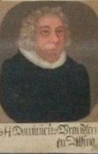 Dominicus Andersen Brandts portræt fra Riise Kirke på Ærø