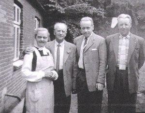 Kirstine Olsen, KristenLønsgaard, Niels Kristian Christensen og Johannes Christensen