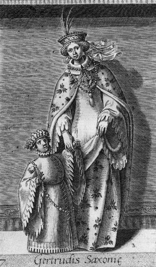 Knud den Helliges svigermor var Gertrud von Sachsen, der Regent af Holland fra sin første mands død 1061 og løbende i krig med Willem I, Biskop af Utrecht, som besatte hendes søns territorium. Hun flygtede til de frisiske øer (Zeeland).