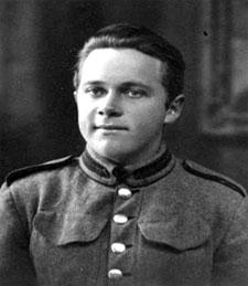 Niels Kristian som soldat
