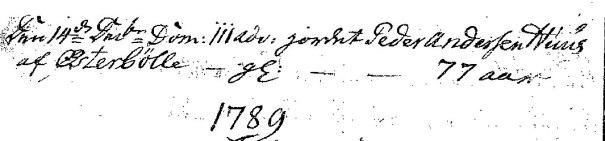 Peder_Huus_død_1788_kirkeboeger