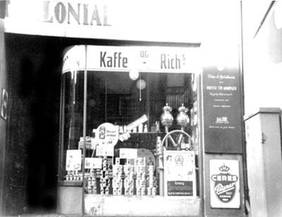 Købmandsbutikken i Rosengade i Århus