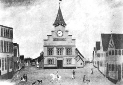 Sønderborgs rådhus fra 1600-tallet