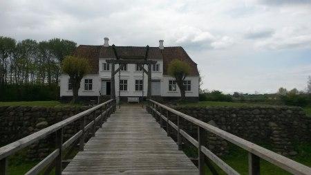 Søgård på Ærø, som var den hertugelige amtsforvalters residens