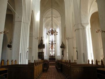 Domkirken indefra
