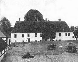 Hovedgården Guldborg på et senere billede