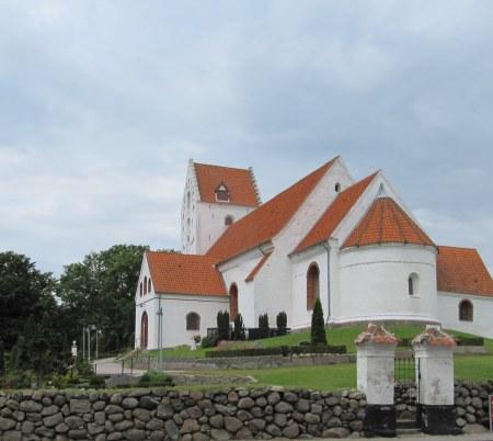 Lindelse Kirke på Langeland