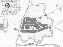 Rudkøbing i 1640