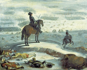 Kong Karl X Gustavs togt over Storebælt