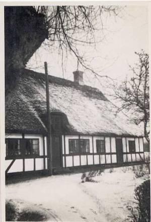Marken, hvor Inger boede med de fire børn.