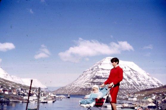 Nelly i Klaksvig på Færøerne