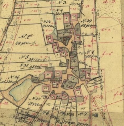 Reersø By i 1803.