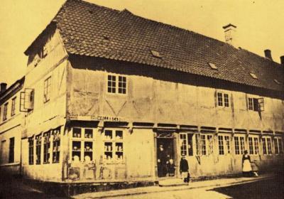 Ribers gård i Møllegade.