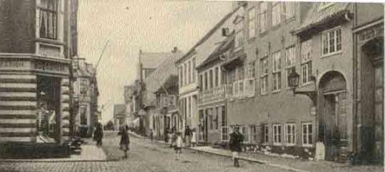 Grønnegade i Fåborg.