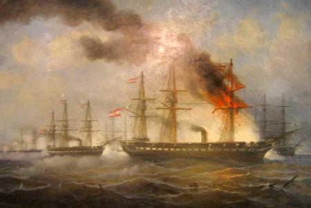 Slaget om Helgoland (Josef Carl Berthold Puettner)