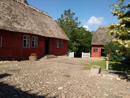 Præstegården fra gårdsiden.