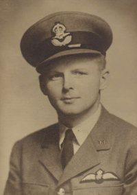 Niels Juul Rysensteen Buchwald blev skudt ned med sit fly under Anden Verdenskrig.